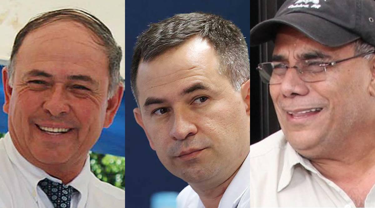 Juan Samayoa, Wilfredo Guerra y Adán Salazar
