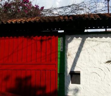 Casa donde ocurrió el crimen. Foto D1, Salvador Sagastizado.