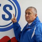 Eduardo Lara, técnico de la selección de fútbol de El Salvador. Foto D1/Rodrigo Sura