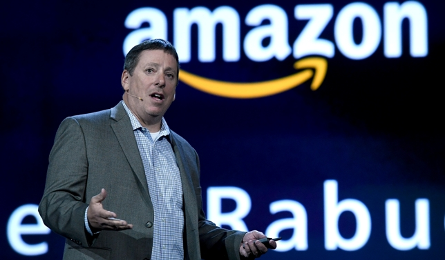 Foto D1, AFP. Vicepresidente de Amazon, Steve Rabuchin.