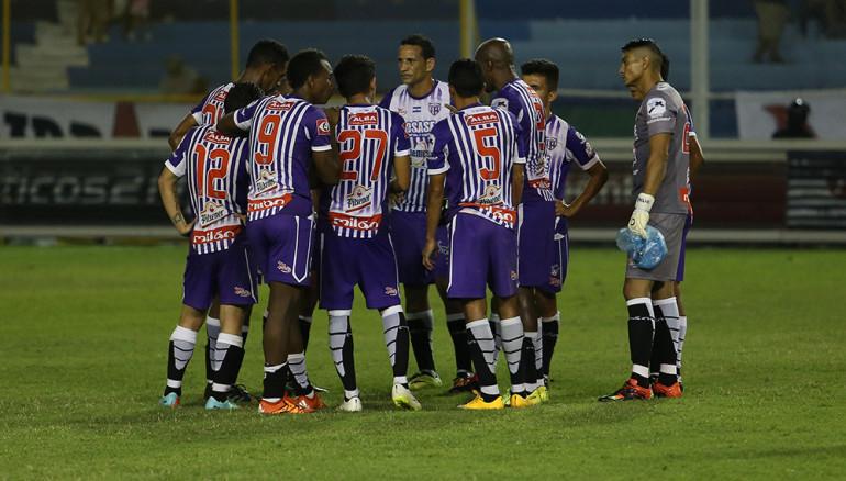 Jugadores del Chalatenango a principios de 2017. Foto D1, Archivo.