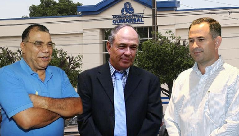 De izquierda a derecha: José Adán Salazar, Juan Umaña Samayoa y Wilfredo Guerra.