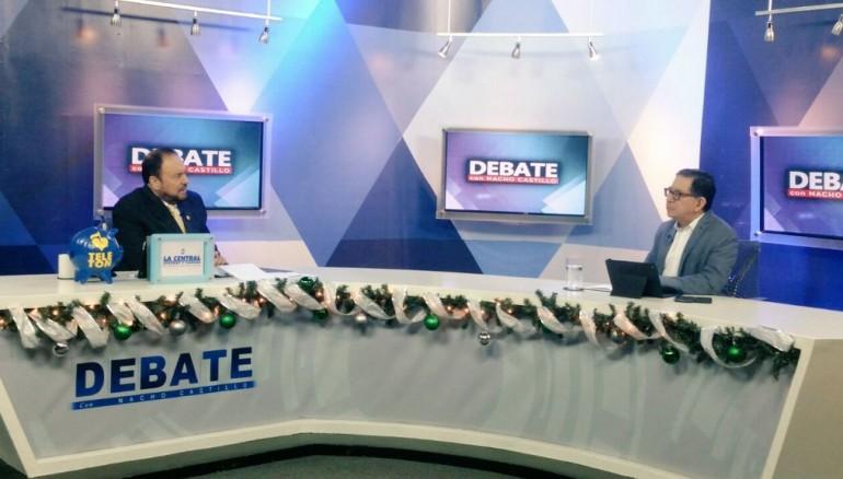 Foto twitter Debate con Nacho