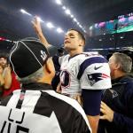 Tom Brady, mariscal de campo de los Patriots de Nueva Inglaterra. Foto D1, AFP.