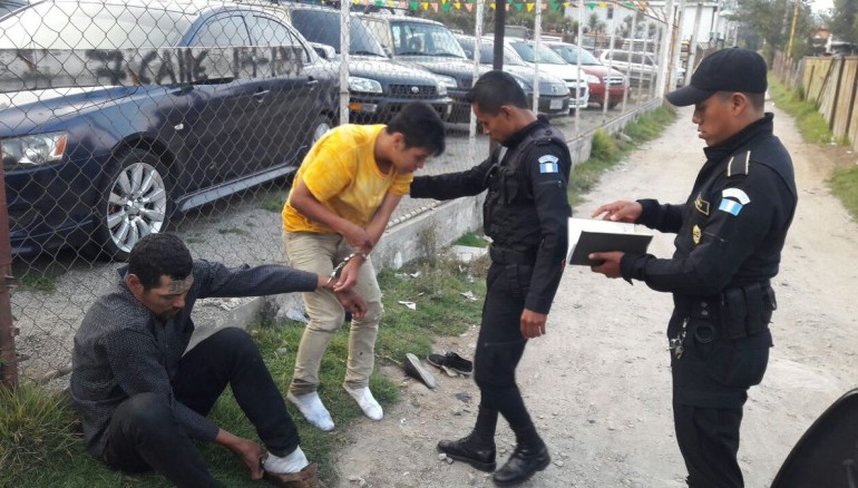 Foto PNC Guatemala.