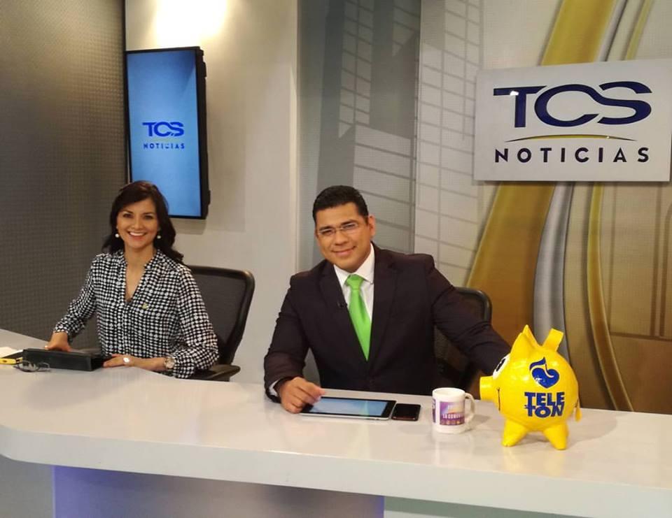 Presentadores de Frenta a la Comunidad/ Imagen de TCS