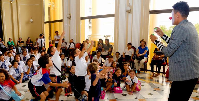 Foto de la Secretaría de Cultura de la Presidencia.