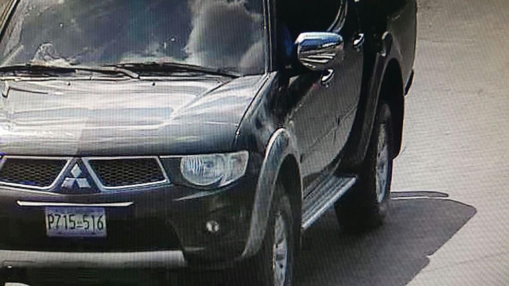 Imagen del vehículo supuestamente involucrado en el accidente.