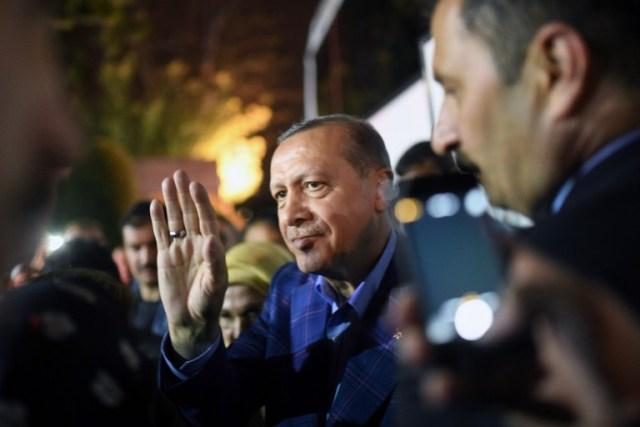 Recep Tayyip Erdogan, presidente de Turquía. Foto D1, AFP.