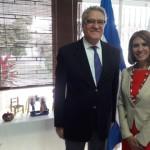 Francisco Olavarría, embajador de México en El Salvador. Foto D1.