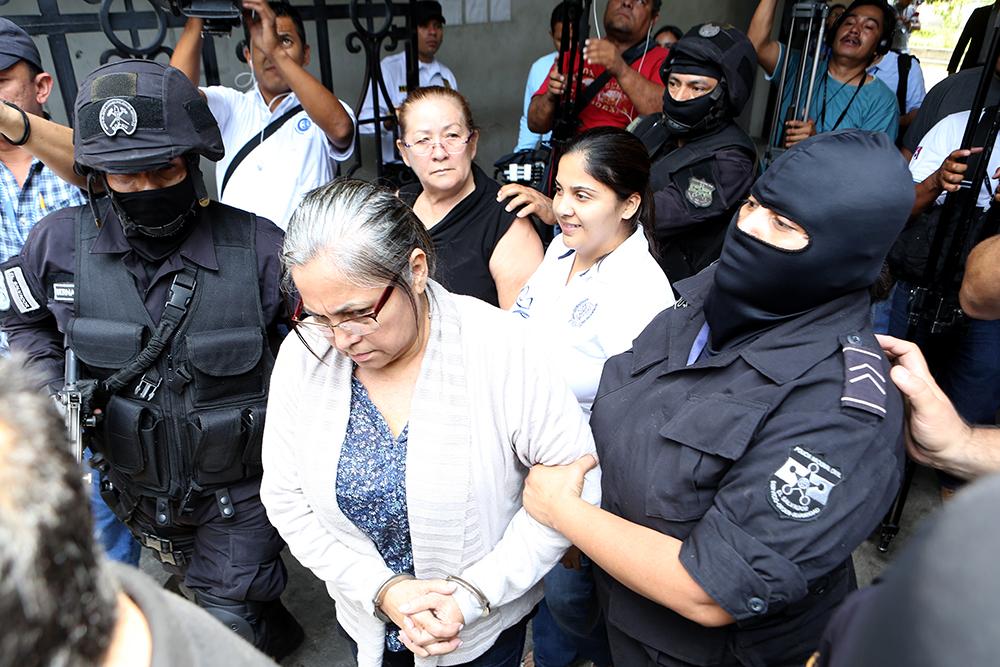 """Acusadas en caso """"Operación Lavado"""". Foto D1/Rodrigo Sura"""