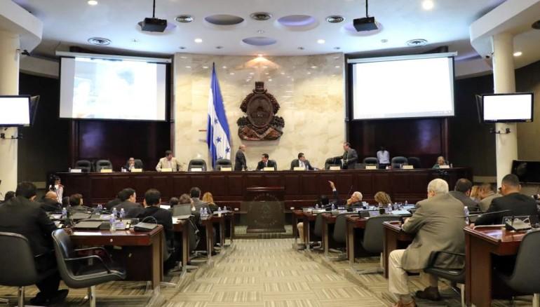 Congreso de Honduras. Foto de La Prensa de Honduras.