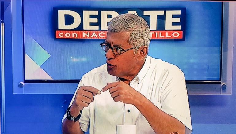 Foto twitter Debate con Nacho.