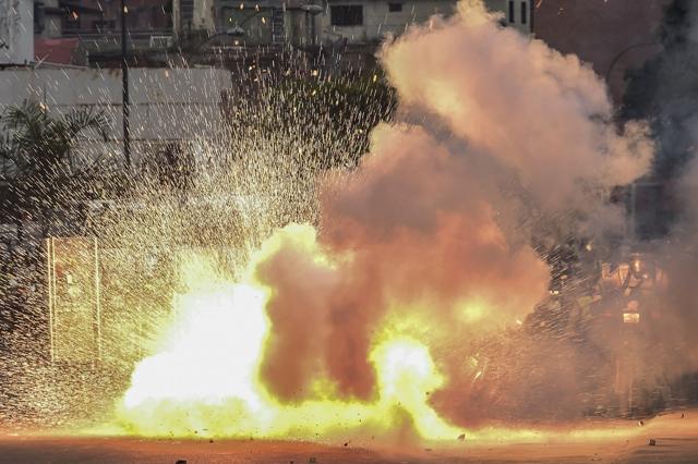 Once muertos de jueves a viernes. Foto de AFP.
