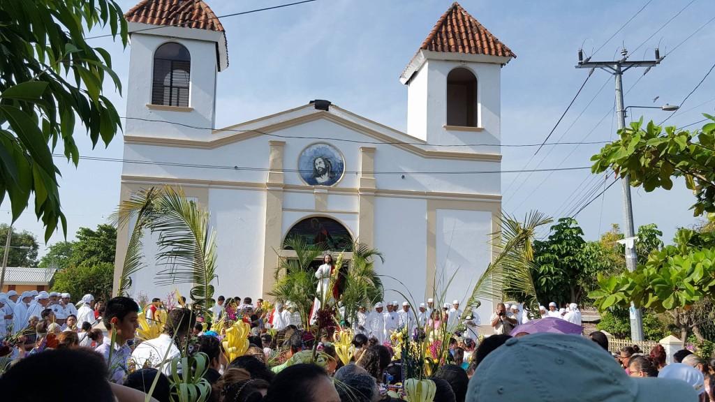 Iglesia El Calvario, Usulután. Imagen de Joaquín Quintanilla