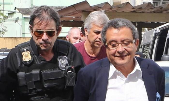 Joao Santana, cuado fue arrestado. Foto O Globo.