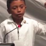 niño discurso