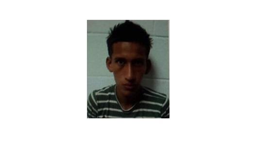 Foto PNC. Jorge de Jesús Carranza Trejo, cabecilla de pandilla