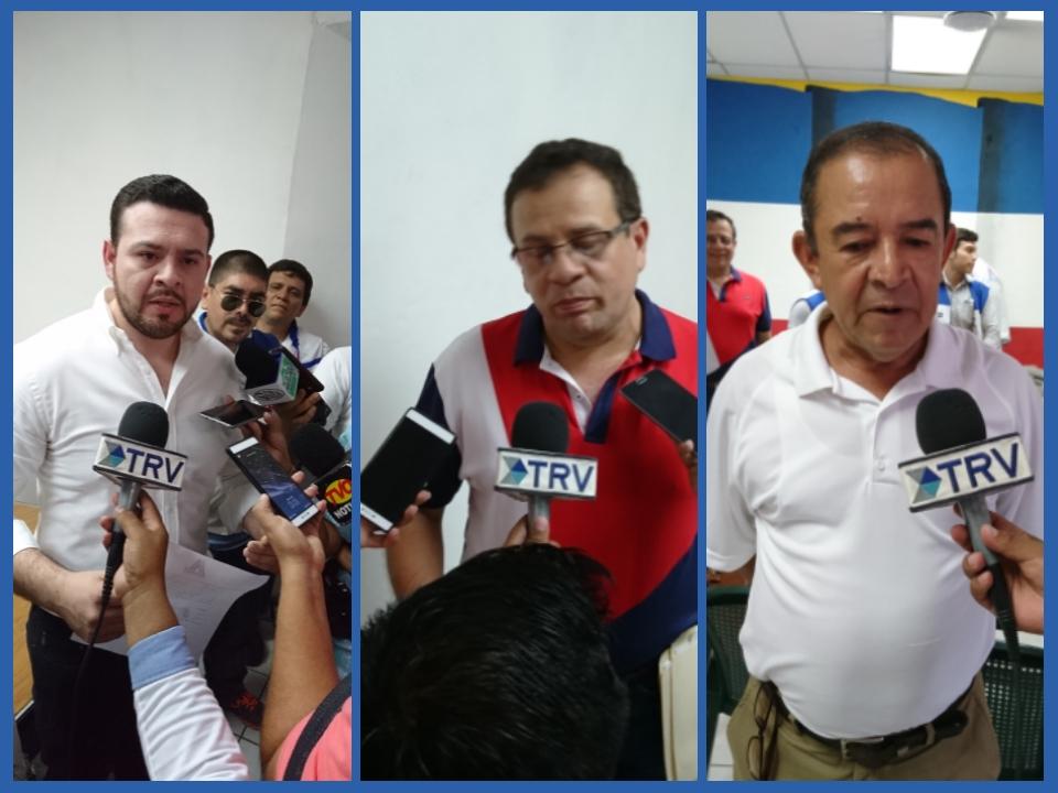 Foto TRV. Precandidatos para las elecciones municipales en San Miguel por ARENA