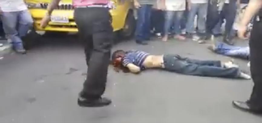 pandilleros golpeados 2