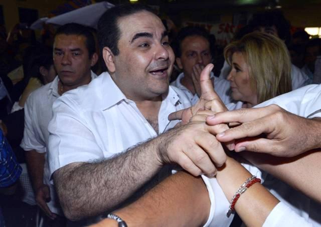 Elías Antonio Saca. Foto: AFP.