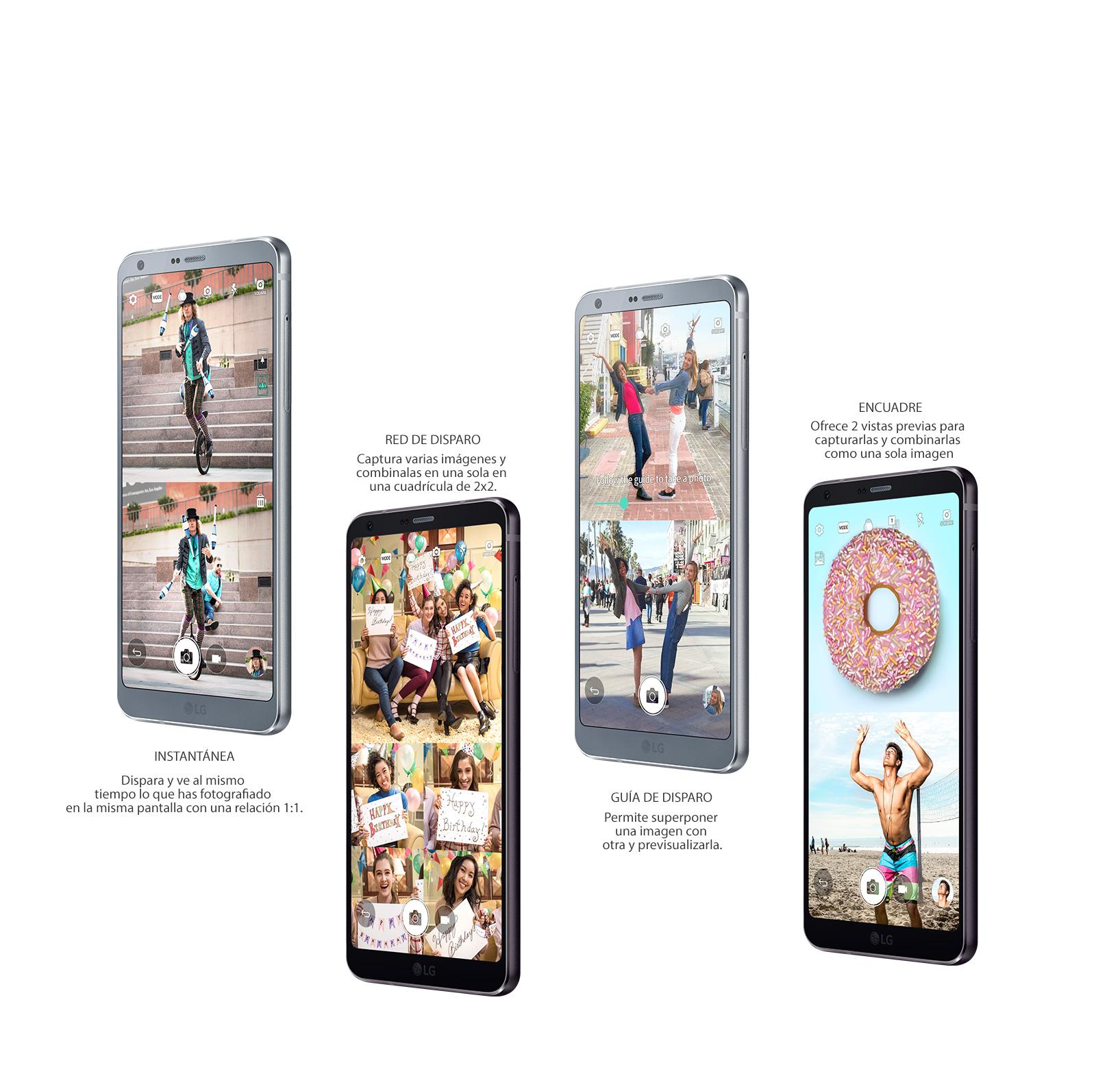 Algunas de las especificaciones del nuevo LG G6
