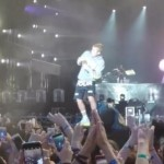 Justin Bieber botellazo
