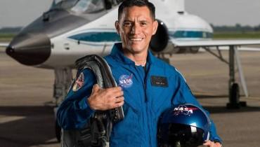 Frank Rubio. Foto tomada de la NASA.