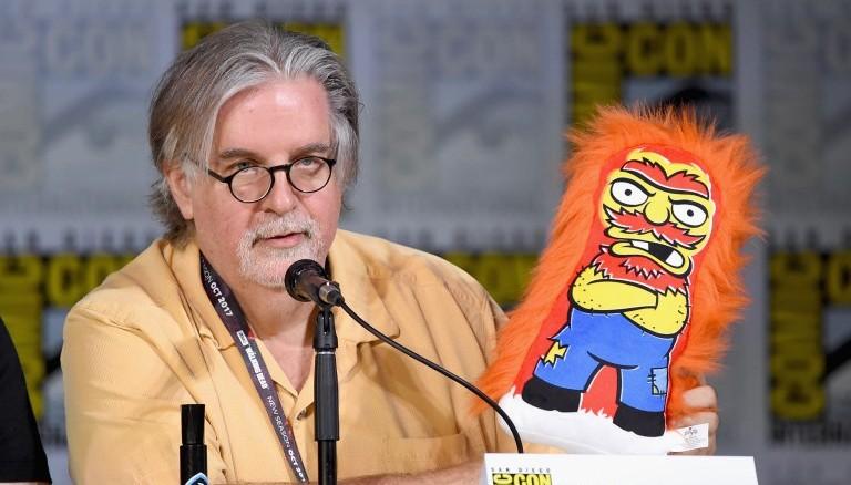 Matt Groening. Foto AFP/D1