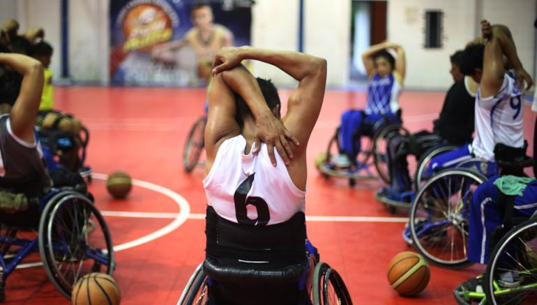 La selecci n de baloncesto que no conoce l mites diario1 - Baloncesto silla de ruedas ...
