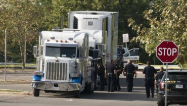 camión migrantes texas
