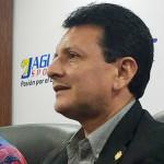 Rigoberto Mejía, alcalde de Chalatenango.