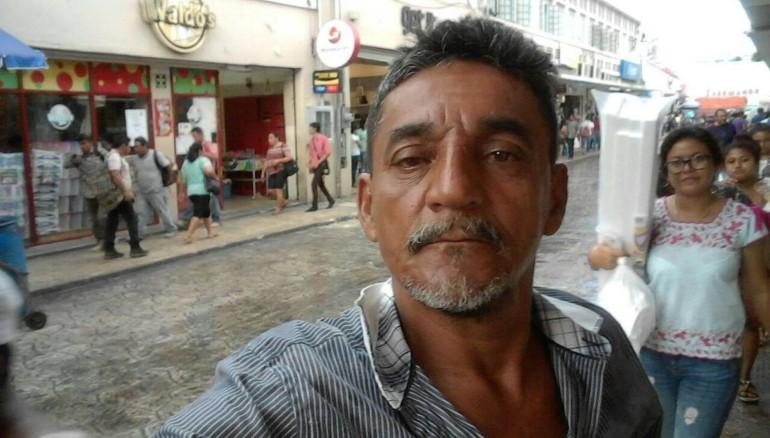 Periodista Cándido Ríos. Foto de facebook