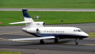 Jet Falcon 900-B. Imagen de referencia.
