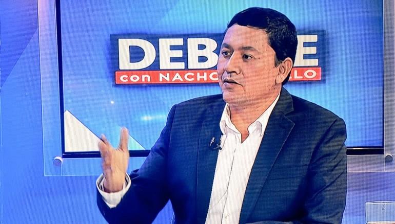 Foto Debate con Nacho.