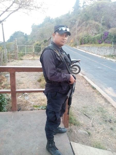 Agente Melvin Rodríguez.