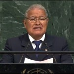 presidente en la ONU