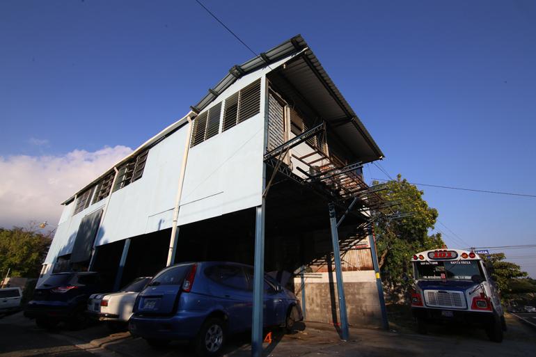 Casa reconstruida por Juan Hernández. FOTO: D1/MIGUEL LEMUS.