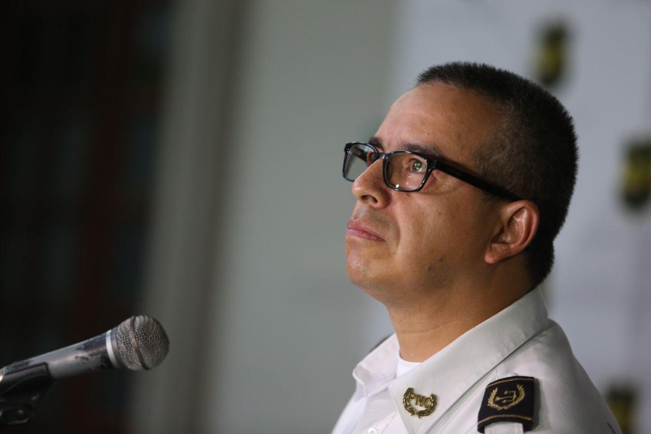 El director de la PNC amplió los detalles sobre el asesinato de la periodista. Foto D1/ Miguel Lemus.
