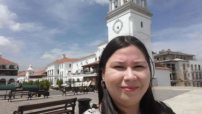 Periodista Karla Turcios