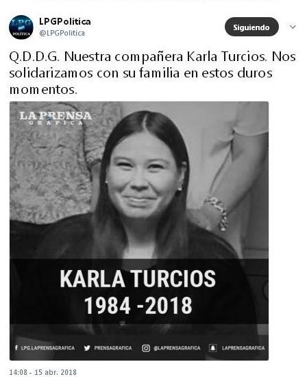 periodista Karla T