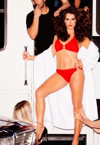 Brooke Shields traje de baño 1