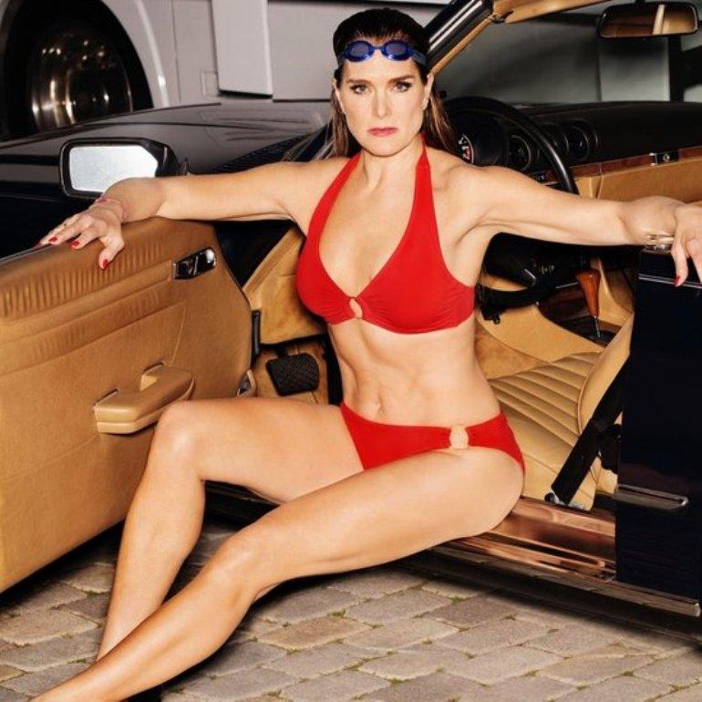 Brooke Shields traje de baño 3