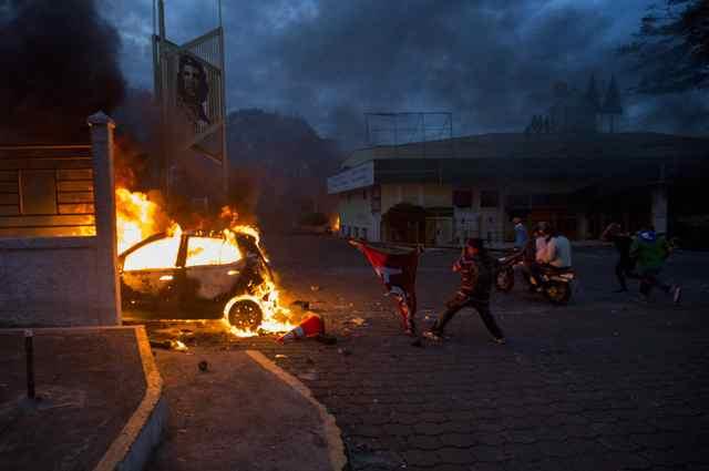 ONG reporta 5 muertes en protestas en Nicaragua