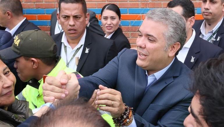 Ivan Duque. Foto D1/EFE