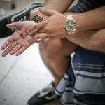 Foto D1. Miguel Lemus.  Mateo recibió tres disparos. Uno de ellos le destrozó la mano.
