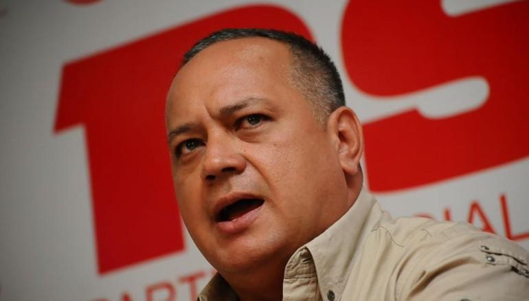 EE.UU confisca a Diosdado Cabello $800 millones