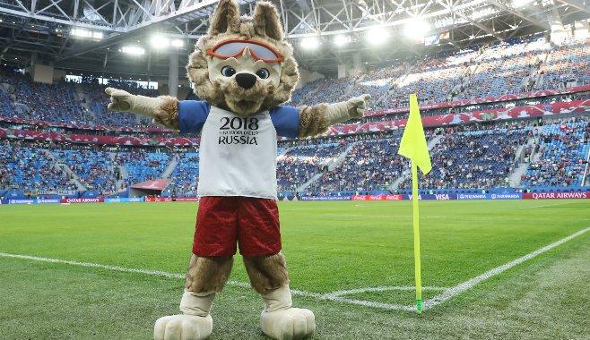 Zabivaka, la mascota oficial del mundial Rusia 2018.