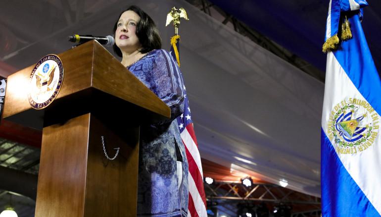 Foto cortesía de la Embajada de Estados Unidos en el Salvador.
