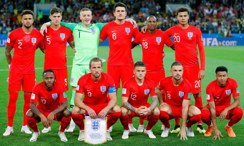 Selección de Inglaterra. Foto D1, EFE.